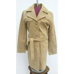 46ff628bc Old Navy Suede Trench Coat - XS